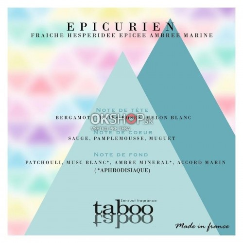 TABOO EPICURIEN SENSUAL FRAGANCE 50Ml