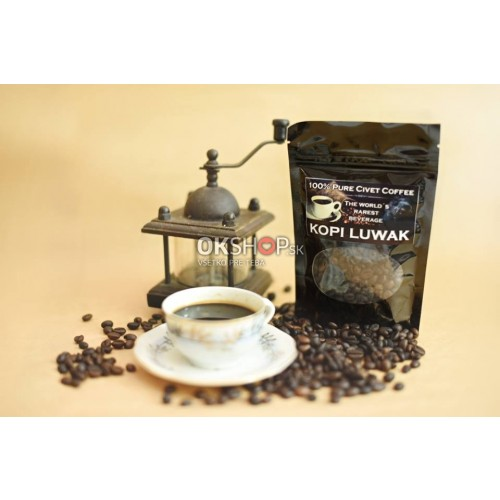 Kopi Luwak Cibetková káva 250g