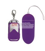 10 Speed Remote Vibrating Egg Big - Purple