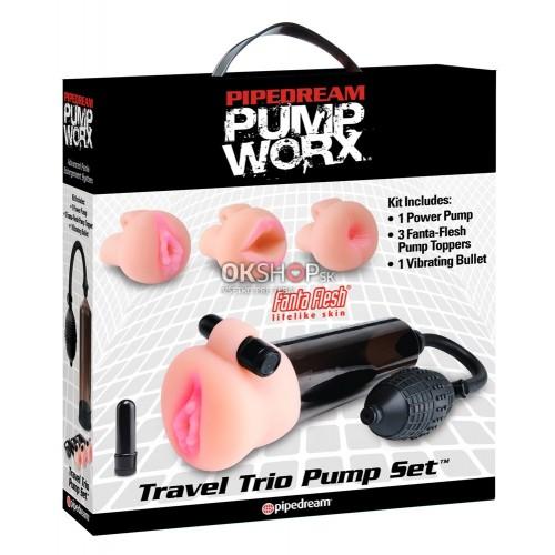 Pump Worx Travel Trio Pump Set