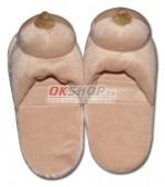 Papuče s prsiami - 777420