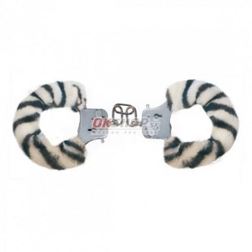 Plyšové putá Zebra