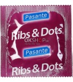 pasante ribs and dots 100ks