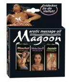 Magoon 3x50ml Sada masážnych olejov