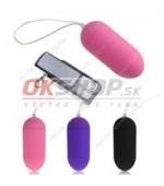 Wireless remote control egg purple