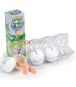 Exploding golf balls with pecker pieces
