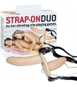 Pripínací penis Strap-on Duo