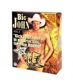 Nafukovací muž Big John s vibračným penisom