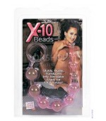 X-10 Beads Pink