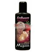 Masážny olej Magoon Jahoda 100 ml