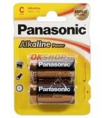 Panasonic Alkaline Power C 2ks